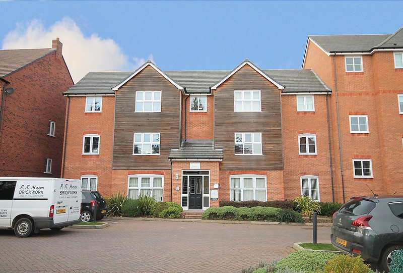 2 Bedrooms Flat for sale in Ash Tree House, The Laurels, Fazeley, B78 3EJ