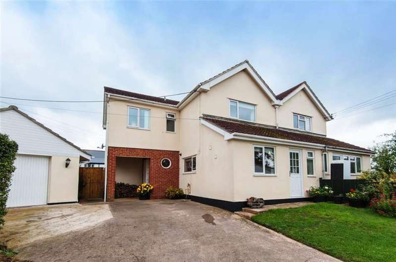 3 Bedrooms Semi Detached House for sale in Broadclyst, Exeter