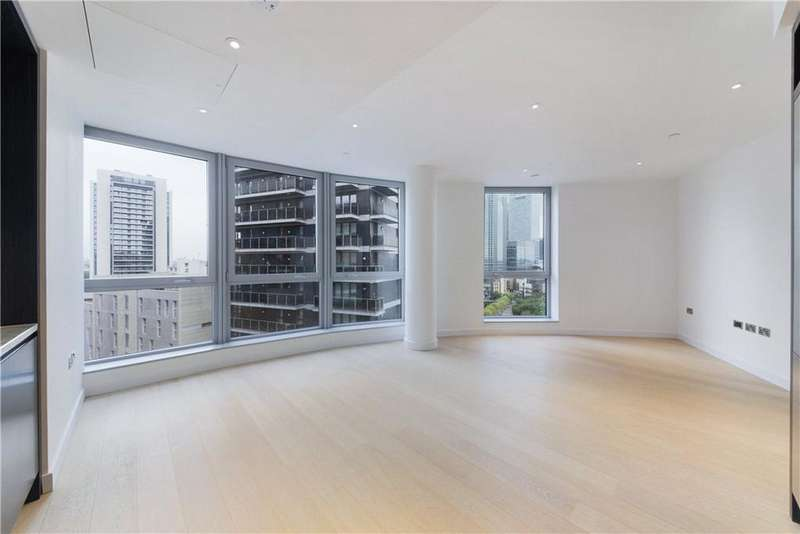 2 Bedrooms Flat for sale in Columbia West Apartments, 1 Biscayne Avenue, Isle Of Dogs, London, E14