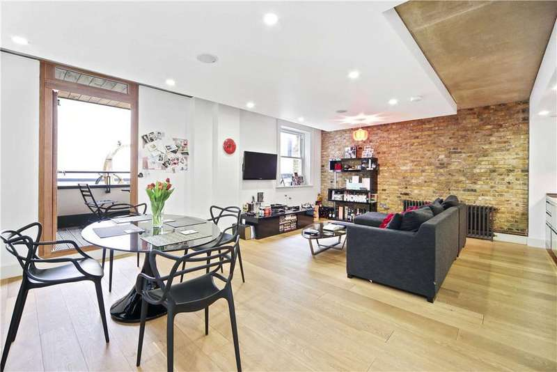 2 Bedrooms Flat for sale in The Henson Building, 30 Oval Road, London, NW1