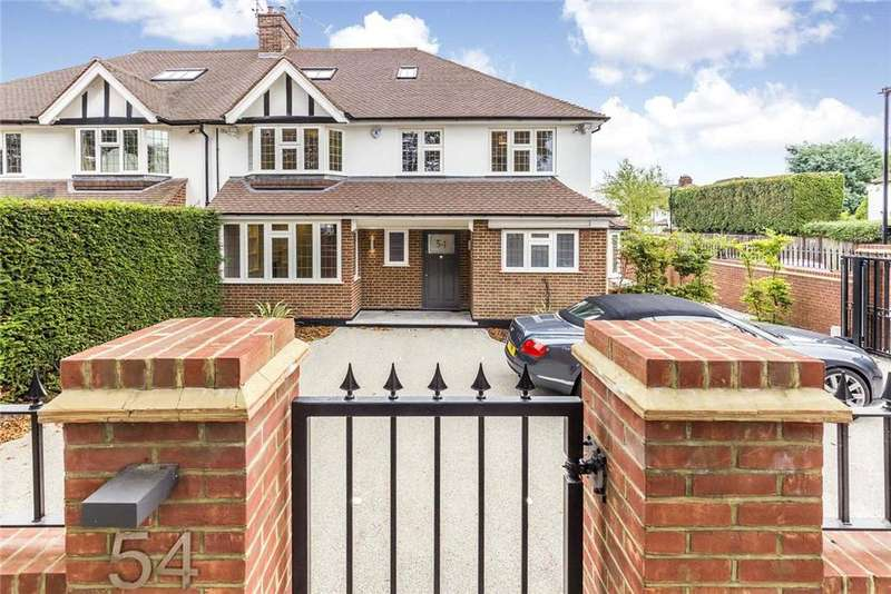 5 Bedrooms Semi Detached House for sale in Hartington Road, Chiswick, London, W4