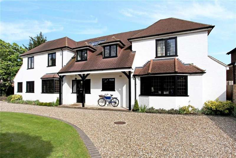 5 Bedrooms Detached House for sale in Church Road, East Molesey, Surrey, KT8