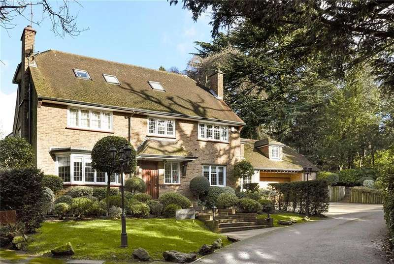6 Bedrooms Detached House for sale in Cockcrow Hill, St. Marys Road, Surbiton, Surrey, KT6