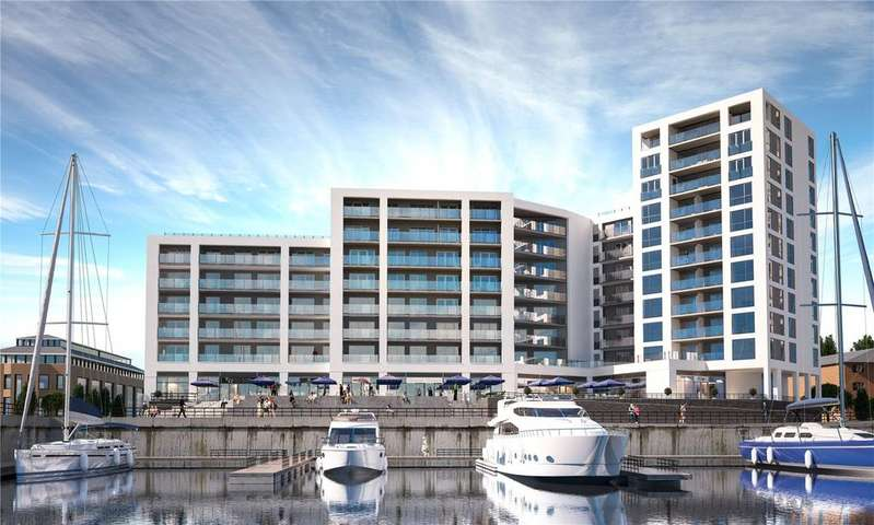 2 Bedrooms Flat for sale in 207 Alexandra Wharf, 1 Maritime Walk, Ocean Village, Southampton, SO14