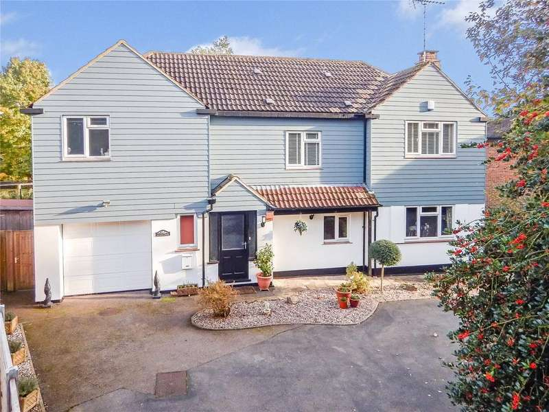 4 Bedrooms Detached House for sale in Dunmow Road, Bishop's Stortford, Hertfordshire, CM23