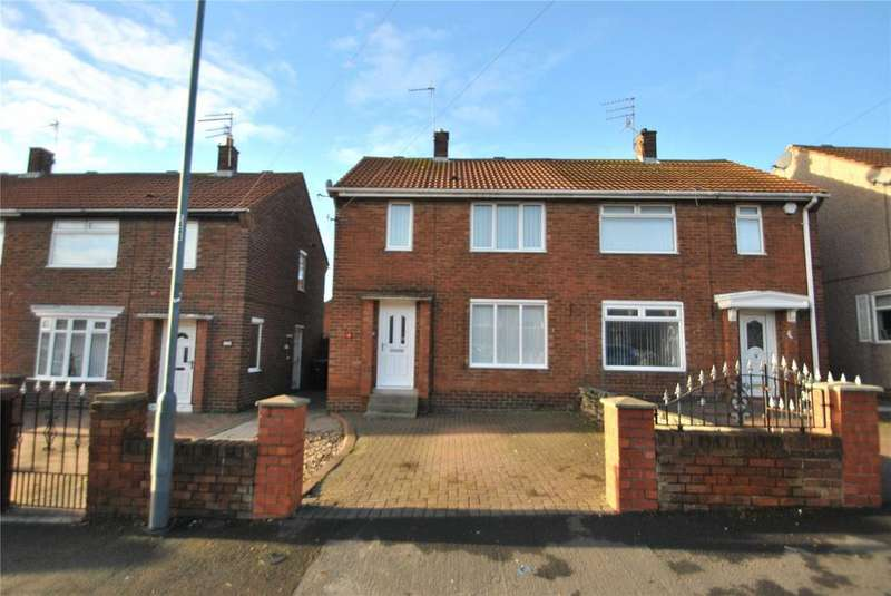 2 Bedrooms Semi Detached House for sale in Derwent Close, Seaham, Co Durham, SR7