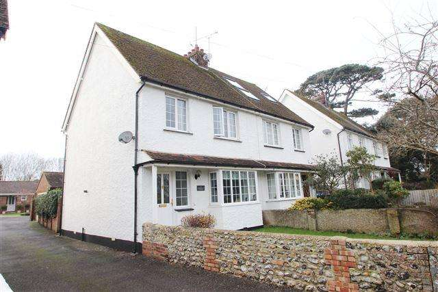 3 Bedrooms Semi Detached House for sale in Sea Lane, Ferring, West Sussex, BN12 5DZ