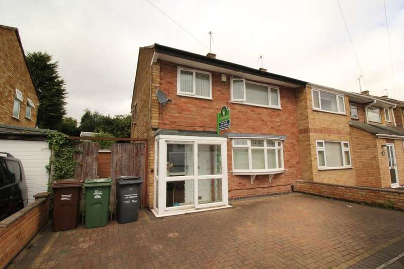 3 Bedrooms Semi Detached House for sale in Dovedale Road, Thurmaston, Leicester, LE4