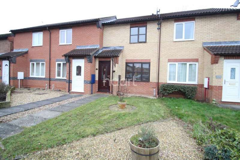 2 Bedrooms Terraced House for sale in Hunters Drive, Metheringham
