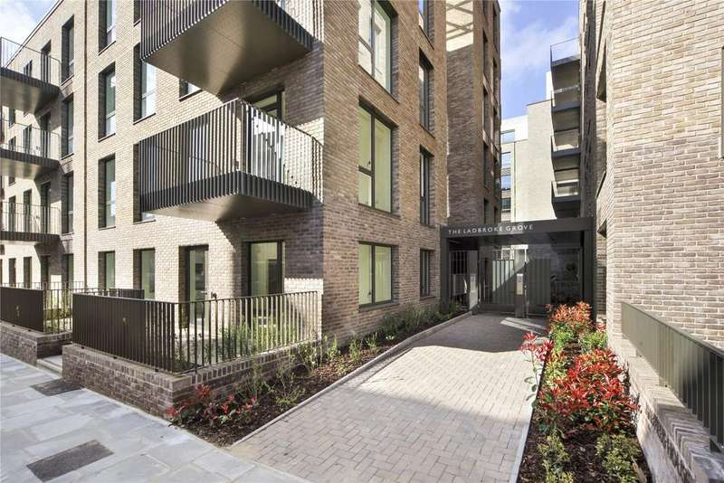 2 Bedrooms Flat for sale in Atrium Apartments, 12 West Row, Ladbroke Grove, London, W10