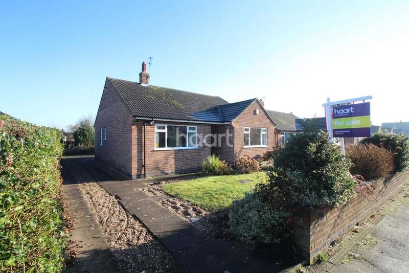 3 Bedrooms Bungalow for sale in Pytchley Drive, Loughborough
