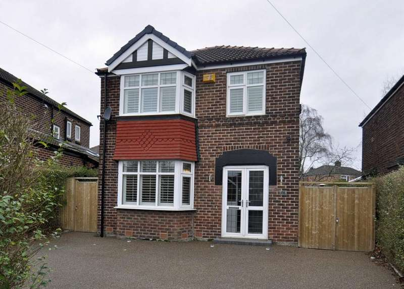 3 Bedrooms Detached House for sale in Ravenoak Road, Cheadle Hulme,