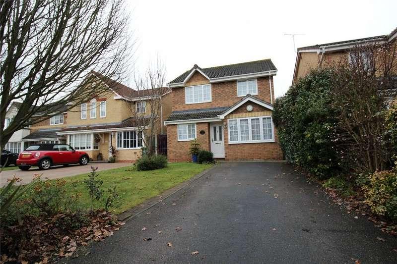 3 Bedrooms Detached House for sale in Denehurst Gardens, Langdon Hills, Essex, SS16