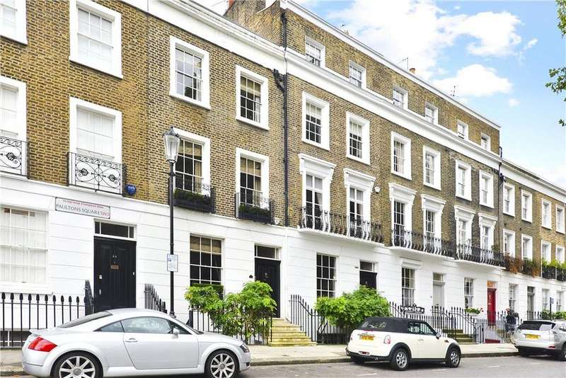 4 Bedrooms Terraced House for sale in Paultons Square, Chelsea, London, SW3
