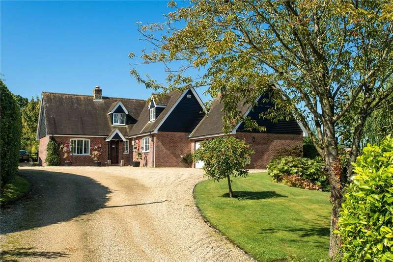 4 Bedrooms Detached House for sale in Higher Street, Okeford Fitzpaine, Blandford Forum, DT11