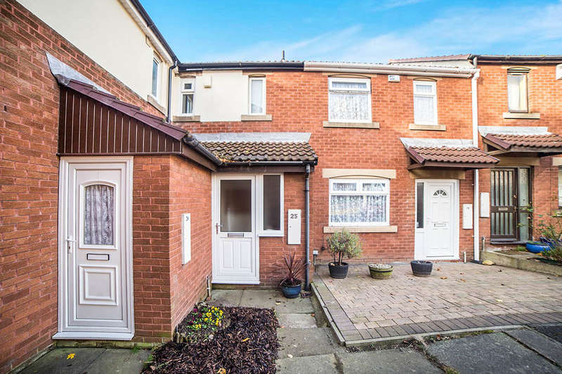 2 Bedrooms Semi Detached House for sale in Harbottle Court, Newcastle Upon Tyne, NE6