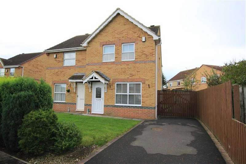 3 Bedrooms Semi Detached House for sale in Temple Way, Newton Aycliffe, County Durham