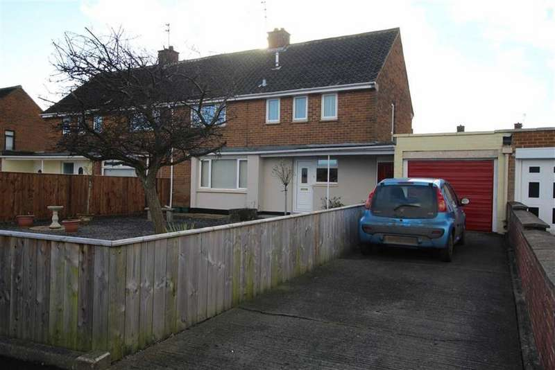 4 Bedrooms Semi Detached House for sale in Macmillan Road, Newton Aycliffe, County Durham