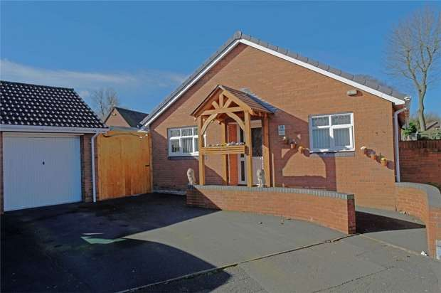 3 Bedrooms Detached Bungalow for sale in 18 Ainsdale Drive, Priorslee, Telford, Shropshire