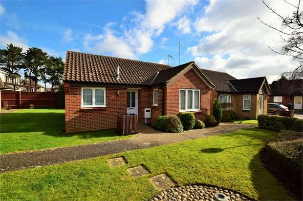 2 Bedrooms Detached Bungalow for sale in Sheraton Close, NORTHAMPTON