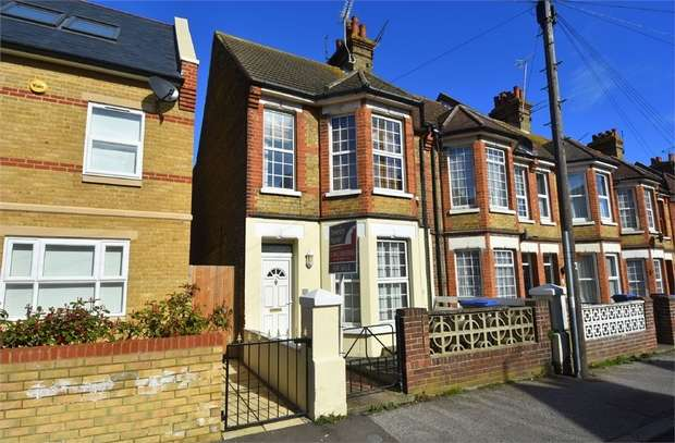 3 Bedrooms End Of Terrace House for sale in Southwood Road, Ramsgate, Kent