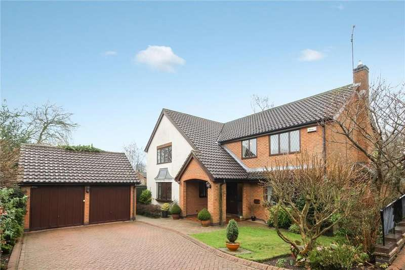 4 Bedrooms Detached House for sale in Wordsworth Close, Coleorton