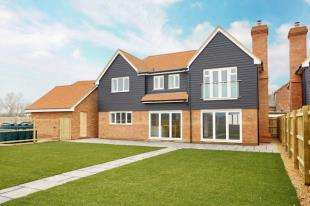 5 Bedrooms Detached House for sale in Farthings Wood Rise, Calcott Hill, Canterbury, Kent