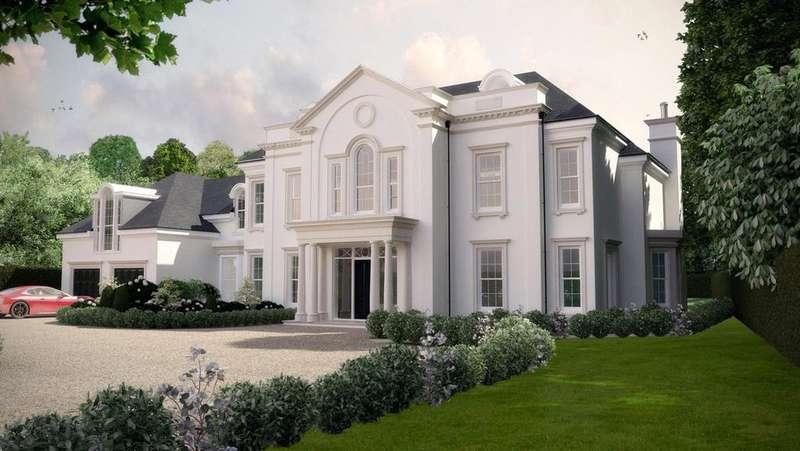 5 Bedrooms Detached House for sale in Cranley Road, Burwood Park, Walton-on-Thames, Surrey, KT12