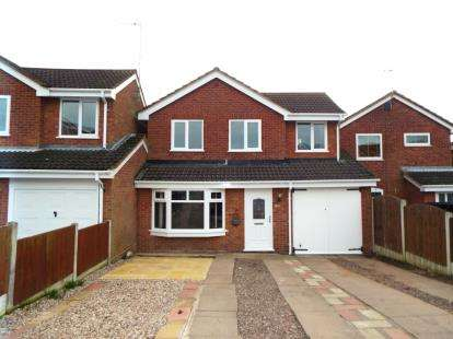 5 Bedrooms Detached House for sale in Langtree Close, Cannock, Staffordshire