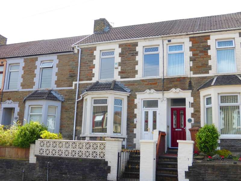 3 Bedrooms Terraced House for sale in Van Road, Caerphilly