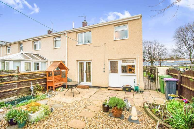 3 Bedrooms End Of Terrace House for sale in Newgale Row, Cwmbran