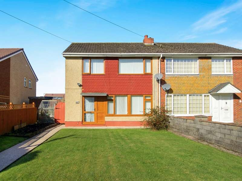 3 Bedrooms Semi Detached House for sale in Lon Einon, Penllergaer, Swansea