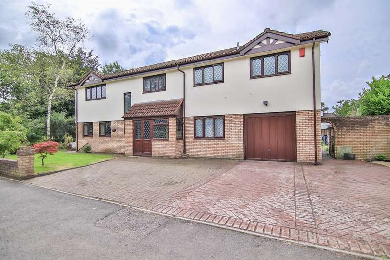 6 Bedrooms Detached House for sale in Cardinal Drive, Lisvane, Cardiff
