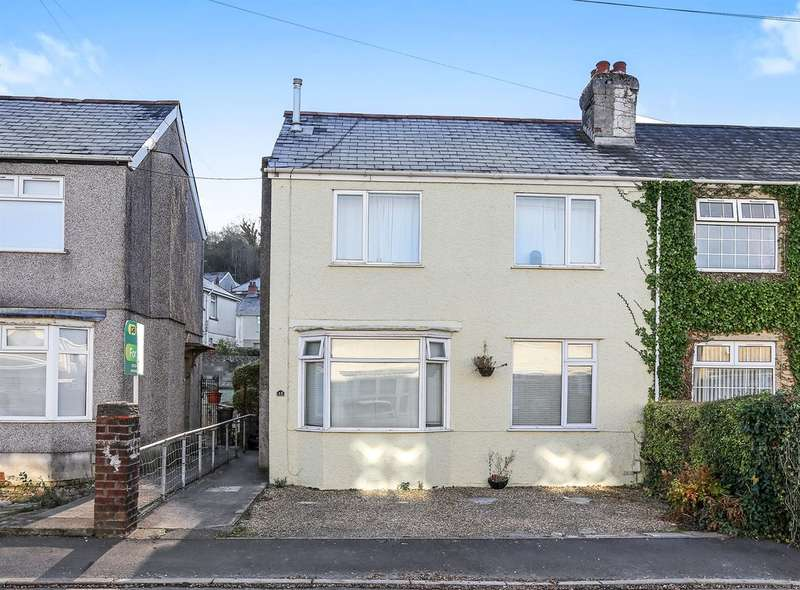 3 Bedrooms Semi Detached House for sale in Glen Road, Gnoll, Neath