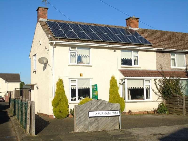 3 Bedrooms Semi Detached House for sale in Laburnum Way, Penarth