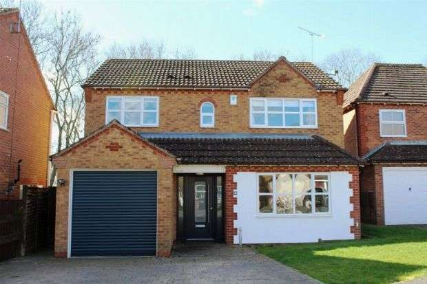 4 Bedrooms Detached House for sale in Wickery Dene, Wootton, Northampton NN4 6BE
