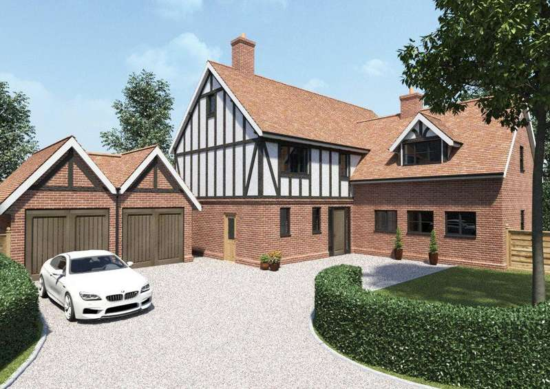 5 Bedrooms Detached House for sale in Walnut Close, Much Hadham, Herts, SG10