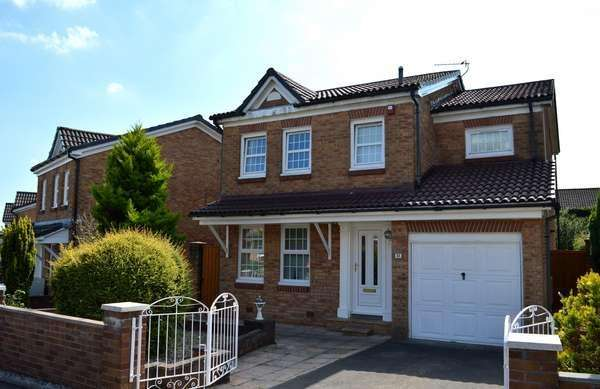 4 Bedrooms Detached House for sale in 11 Blairafton Wynd, Kilwinning, KA13 6UD