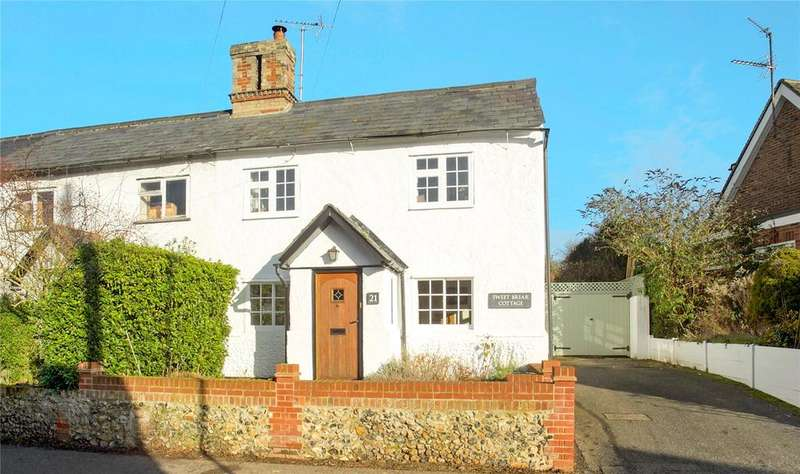 3 Bedrooms End Of Terrace House for sale in Bartlow Road, Linton, Cambridge, CB21