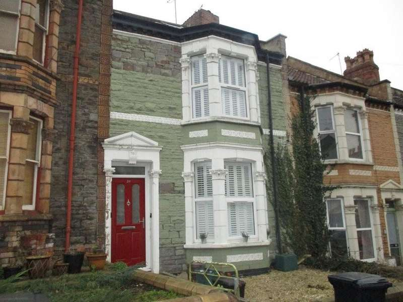 3 Bedrooms Terraced House for rent in Southville, Islington Road, BS3 1QB