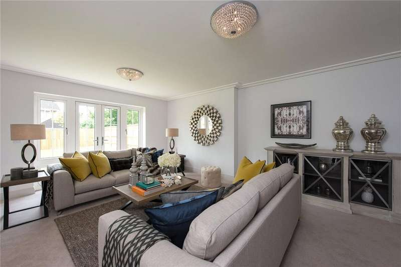 4 Bedrooms Detached House for sale in Harding Way, Kings Field, Marcham, Abingdon, OX13