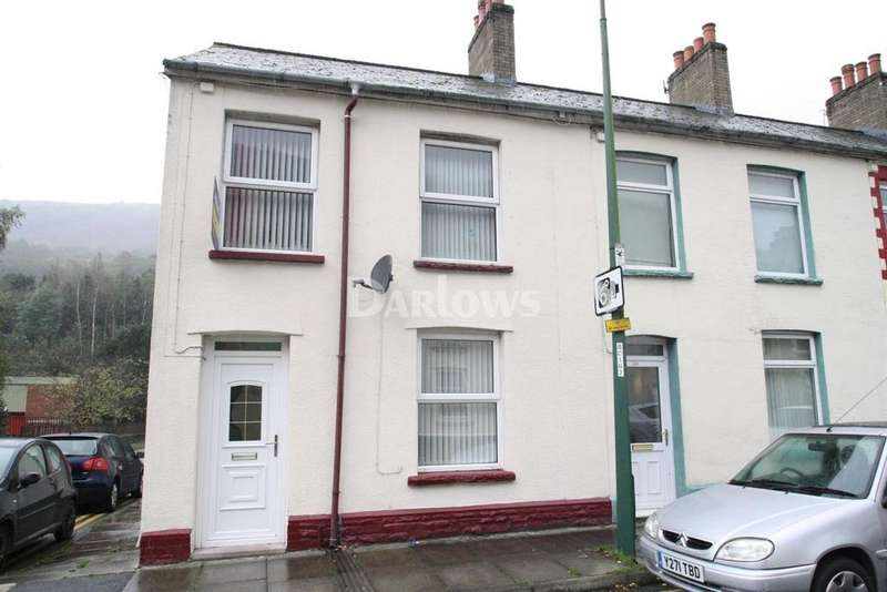 3 Bedrooms End Of Terrace House for sale in Marine Street, Cwm, Ebbw Vale, Gwent