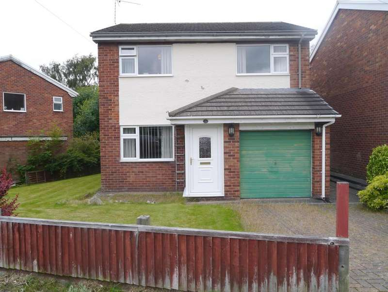 3 Bedrooms Detached House for sale in FfermLlidiart Werdd, Coedpoeth, Wrexham, LL11 3PX