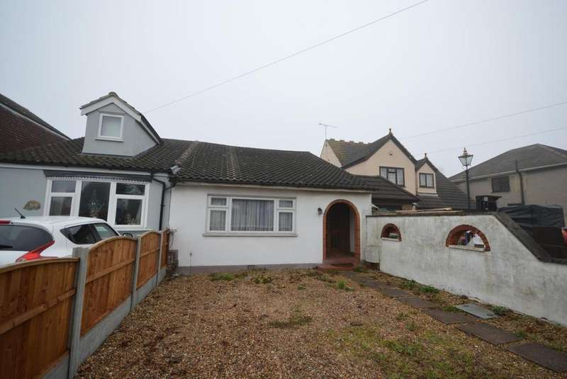 2 Bedrooms Semi Detached Bungalow for sale in Upminster Road North, Rainham, Essex, RM13