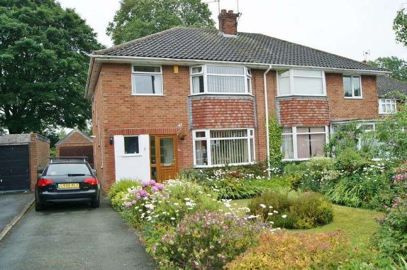 3 Bedrooms Semi Detached House for sale in Stuart Way, Hightown, Wrexham