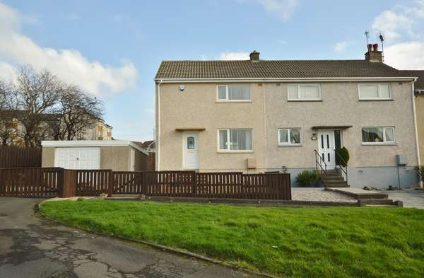 2 Bedrooms Semi-detached Villa House for sale in 15 Carey Road, Saltcoats, KA21 6EY