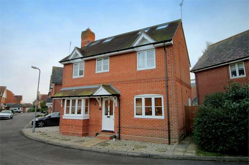 5 Bedrooms Detached House for sale in Maltings Park Road, West Bergholt, Colchester, Essex