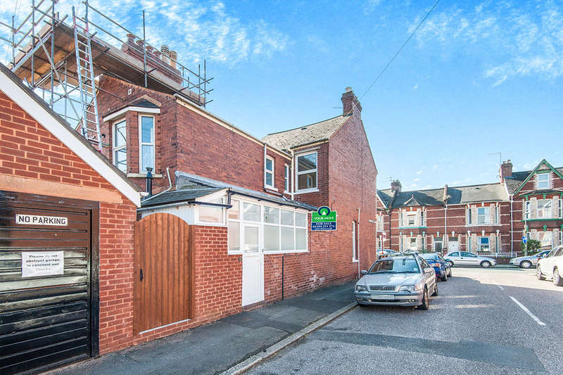 2 Bedrooms Flat for sale in Monkswell Road, Exeter, EX4