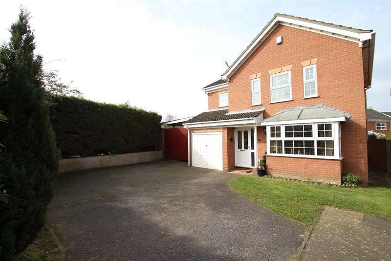 4 Bedrooms Detached House for sale in Hazel Drive, Purdis Farm, Ipswich
