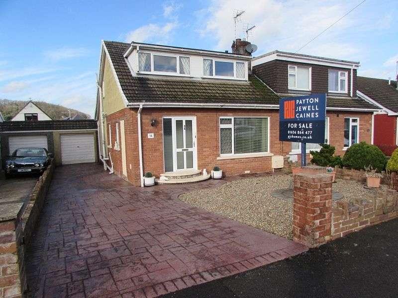 3 Bedrooms Semi Detached House for sale in Heol Croesty , Pencoed, Bridgend. CF35 5LR